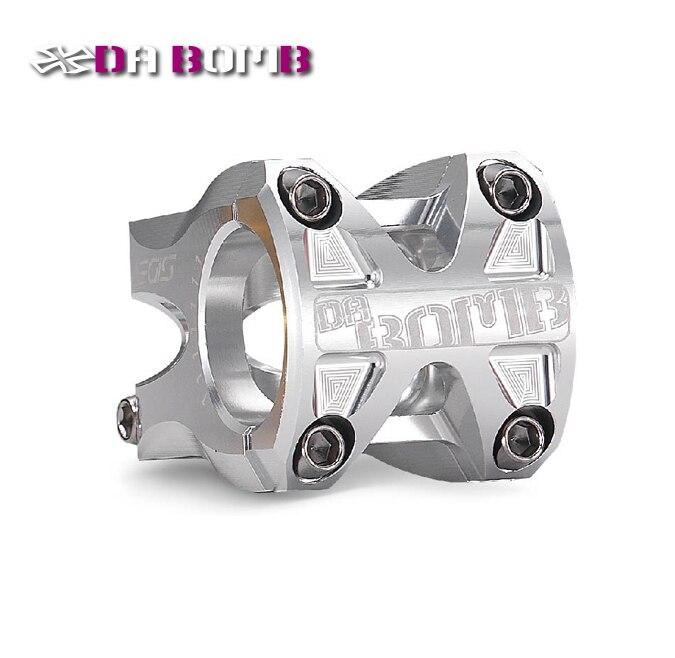 DABOMB AEGIS moutain bike MTB FR AM bicycle CNC Aluminum Anodized color stem 31.8mm 50mm length Silver
