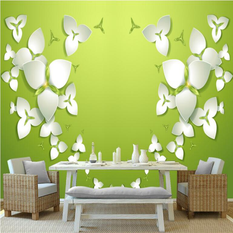 Picture Wall Paper Flowers Transparent Wallpaper Bedrooms Embossed Non-Woven Walls Wallpapers for Boys and Girls Living Room wallpaper for walls 3 d modern trdimensional geometry 4d tv background wall paper roll silver gray wallpapers for living room