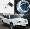 For Jeep Patriot 2007 2008 2009 2010 2011 2012 2013 Excellent angel eyes Ultrabright illumination CCFL Angel Eyes kit Halo Ring