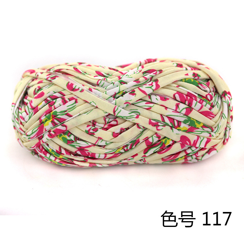 10 Balls Colorful Dyeing Yarn For Knitting Carpet Mat Diy Storage Bag Handbag Fabric Big Crochet Cloth Fancy Yarn Sewing Thread