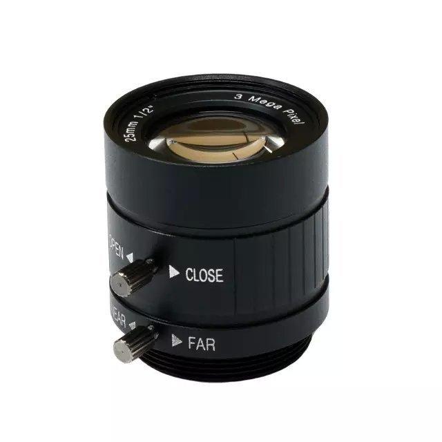 """3 мега пикселей, 25 мм ручной диафрагмой промышленных объектив с 1/1. 8 """"формат и CS фиксированным фокусным расстоянием линзы промышленной камеры"""