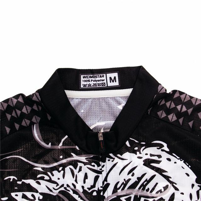 Skull Riding Cycling Jersey for Men. Mountain Bike Jersey, Anti-sweat Cycling Shirt