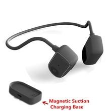 Condução óssea fone de Ouvido Bluetooth IPX5 Graves Fone de Ouvido Estéreo À Prova D' Água Chamada Fone de Ouvido Fones De Ouvido Microfone Com Cancelamento de Ruído de Fitness PK Z8