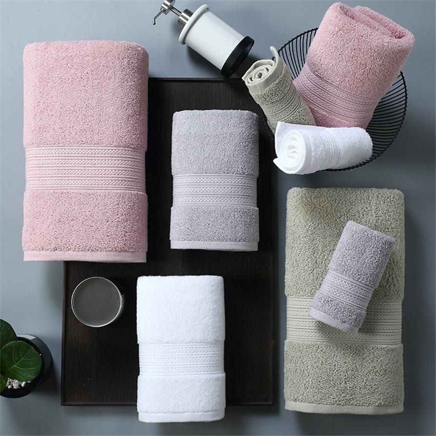 ZHUO MO 150 80cm 100 Pakistan Cotton Bath Towel Super absorbent Terry Bath face towel Large