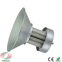 4PCS DC12V 24V Warranty 3 Years Brigdelux Chip 12V High Bay LED Light 600W Industrial Lamp E40