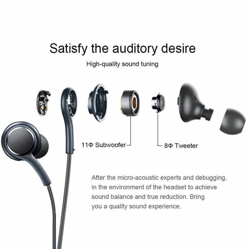 S8 Bass en la oreja los auriculares Super claro oído auriculares de botón auriculares con aislamiento de ruido para iphone 6 Xiaomi Samsung S8 S8 + S7 S6 S4 Nota 8
