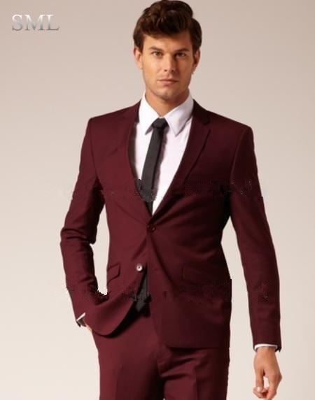 Online Get Cheap Maroon Suit Men -Aliexpress.com | Alibaba Group