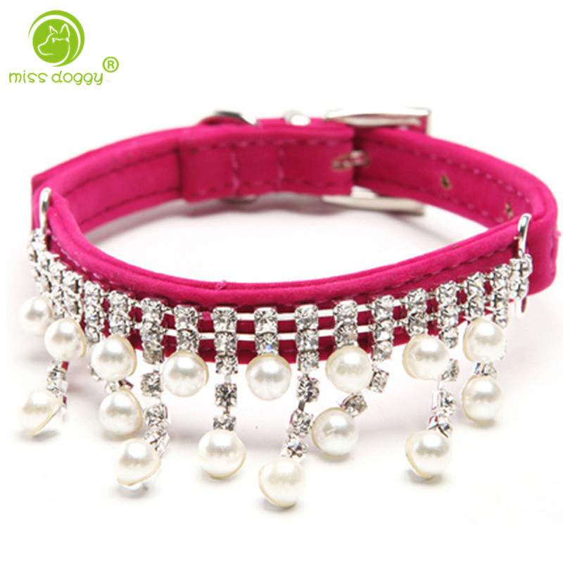 Pearl Dog Collar