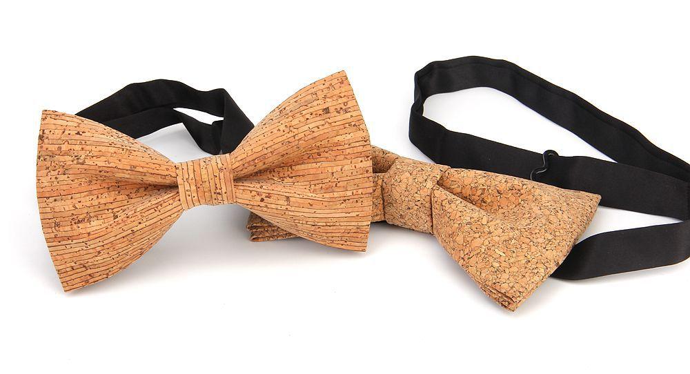 New Handmade Wooden Cork Bamboo Bow Tie Bowtie Men's Cravat 35