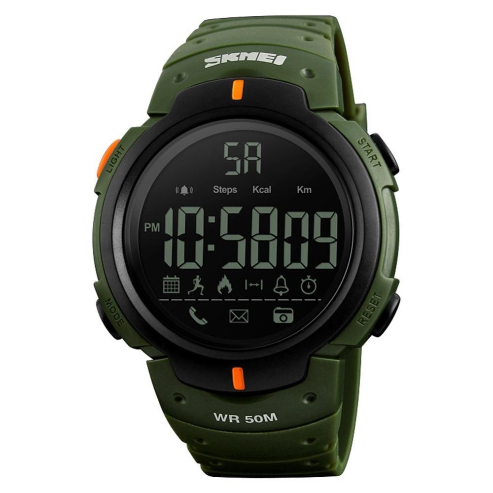 Men Women Fashion Waterproof Smart Sports Wrist Watch Bluetooth Digital Display /Digital watch men