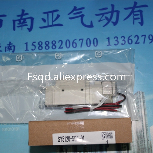 SY5120-5GE-01 SMC solenoid valve electromagnetic valve pneumatic component air tools SY5000 series sy5420 5mo 01 solenoid valve