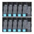 10 unids 2650 mAh Hight Quality LP E6 LPE6 LP-E6 Batería de Cámara para canon 5d mark ii iii eos 6d 7d 60d, para canon accesorios