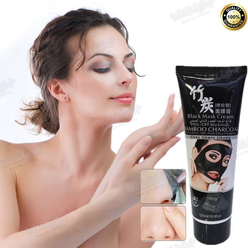 120ml blackhead remover mask tearing style deep cleansing. Black Bedroom Furniture Sets. Home Design Ideas