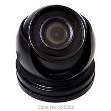 AHD 720P Mini Security CCTV Camera for Taxi and Car No Reflection Black Color Aviation Head