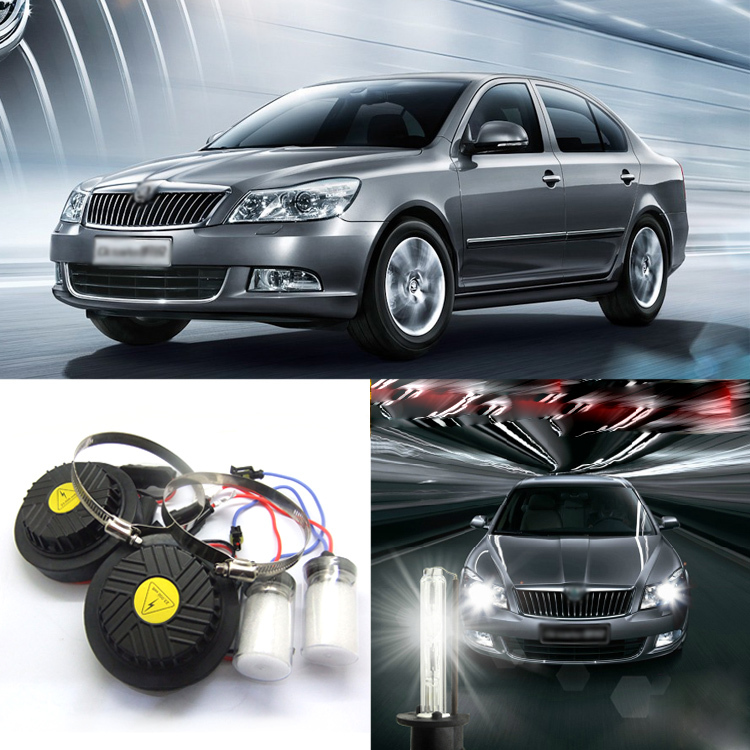 iPobooTech New Generation All In One Lower Beam Error Free H7 HID Lights For Skoda Octavia