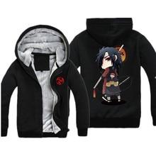 Naruto Hoodie Jacket Casual Cartoon Print Naruto Akatsuki Hoodie Men Women Winter Warm Sweatshirt Sudaderas Hombre
