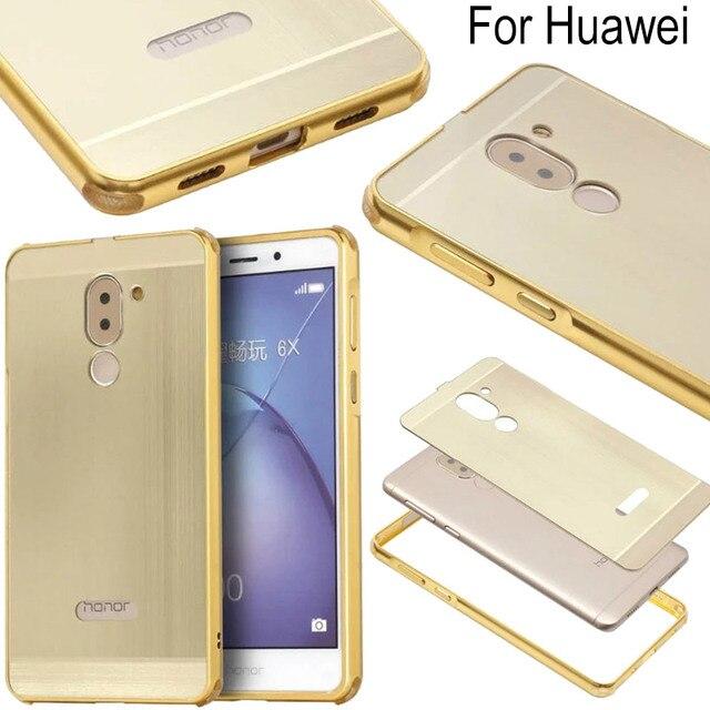custodia huawei honor 6x gold