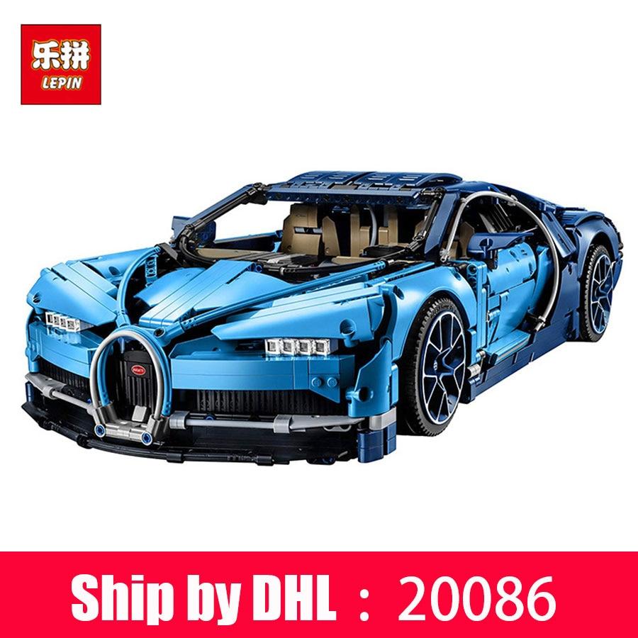 DHL Lepin bloque 20086 Technic série voiture modèle blocs de construction briques compatibles Legoing cadeaux de noël jouets
