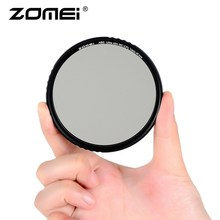 лучшая цена ZOMEI Circular Polarizing HD Lens Coating Polarize CPL Polarizer Filter ABS Optical Glass Ultra Slim Multi-Coated Accessories