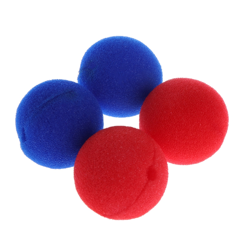 Premium Quality 10Pcs Sponge Ball Clown Nose For Christmas Halloween Costume Party Decoration