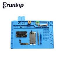 مقاومة للحرارة لحام حصيرة سيليكون الحرارة بندقية بغا محطة لحام لوحة العزل أدوات إصلاح منصة صيانة حصيرة مكتبية