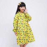 2016 Newest Brand Transparent Raincoat For Children Kids Rain Poncho Coat Child Sets Chubasqueros