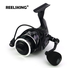 REELSKING Aluminum Spool One-way Clutch 5-10kg Drag fishing reel 1000-7000 sequence EVA deal with spinning reel