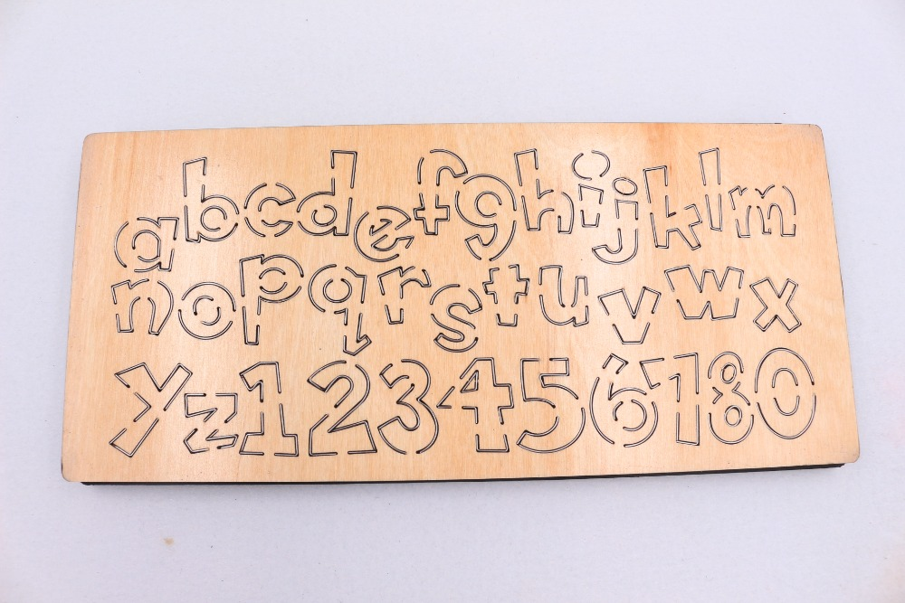 Image 3 - Letter wooden die Cutting Die Suitable for common die cutting machines in the marketCutting Dies