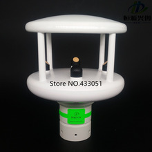 Ultrasonic wind speed and direction transmitter,rainfall sensor,sunlight illumination radiation transmitter