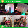 Free shipping Best quality Portable inflatable photo booth cube  tent