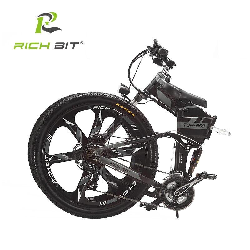 Купить горный гибридный электровелосипед richbit 36 в * 250 вт 128