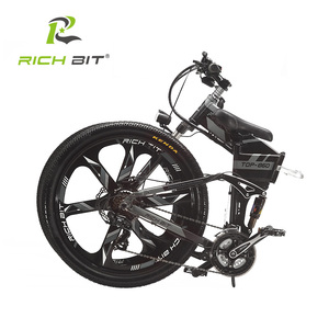 Image 4 - RichBit RT 860 36V*250W 12.8Ah Mountain Hybrid Electric Bicycle Cycling European  Quick deliveryFrame Inside Li on Battery Fold