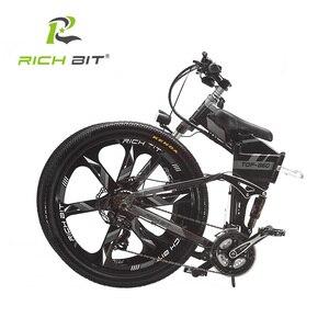Image 4 - Richbit RT 860 36V * 250W 12.8Ah Mountain Hybrid Elektrische Fiets Europese Quick Deliveryframe Binnen Li On batterij Vouw
