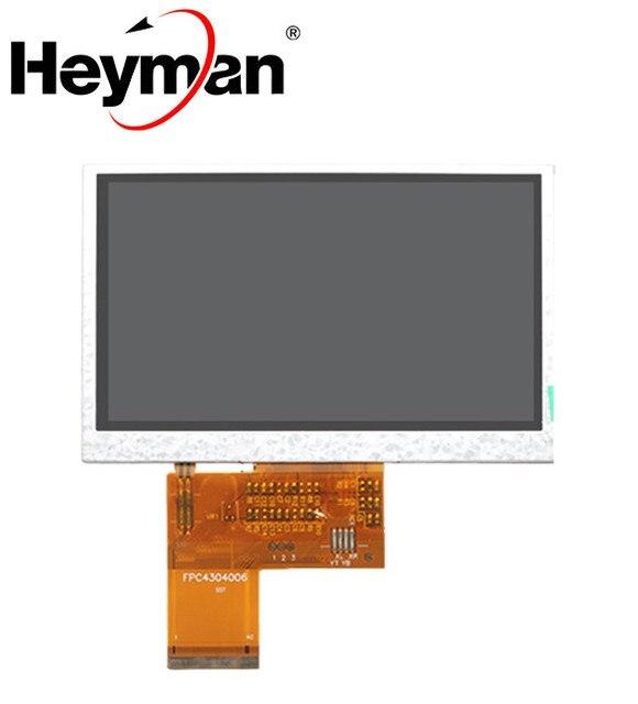 """Heyman 4,3 """"pulgadas TFT HD pantalla LCD para SATLINK WS-6932 WS-6936 WS-6939 WS-6960 WS-6965 WS-6966 WS-6979 buscador de satélite"""