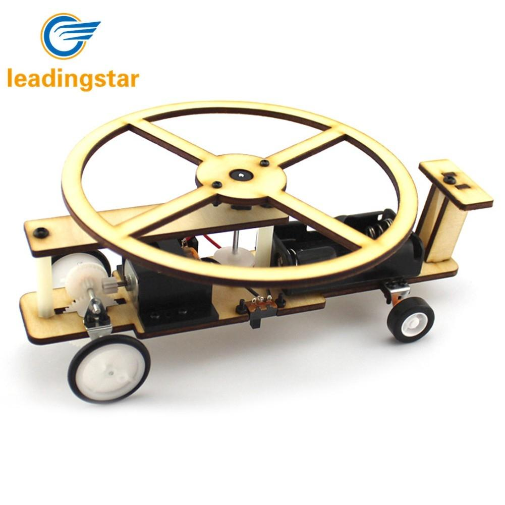Forceful Leadingstar Children Diy Wooden Electric Slide Helicopter Model Scientific Assembly Plane Toys Model Building Kits Boy Toys Aromatic Character And Agreeable Taste Toys & Hobbies