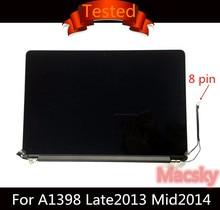 Тестирование подлинной полная сборка ЖК-дисплей для Macbook Retina Pro 15 «A1398 661-8310 Late 2013 MID 2014