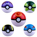 10cm Plastic Pokeball Action Figure Toy, 4inch Poke Ball Figures Model, Pokeball Toys For Children, Anime Brinquedos