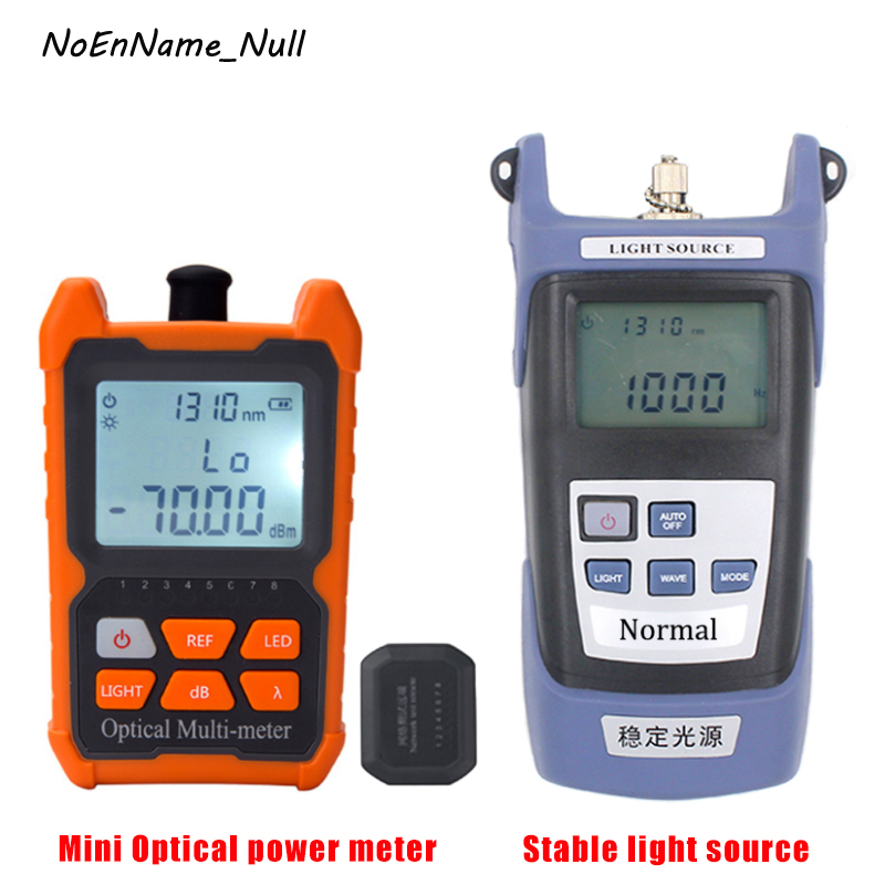 Portable Fiber Optical Power Meter -70~+6dbm 8 Wavelengths with RJ45 Network cable tester, Stable light source Fiber test toolPortable Fiber Optical Power Meter -70~+6dbm 8 Wavelengths with RJ45 Network cable tester, Stable light source Fiber test tool