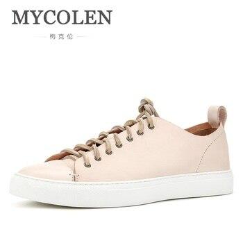3ec9f38aa MYCOLEN nueva primavera verano Zapatos de zapatillas de deporte de los hombres  bajos zapatos de los hombres zapatos casuales zapatos de moda de la marca de  ...