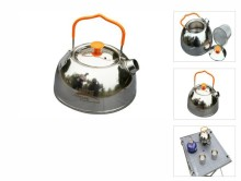 BRS Stainless Steel Teapot Camping Kettle Outdoor BRS-TS06