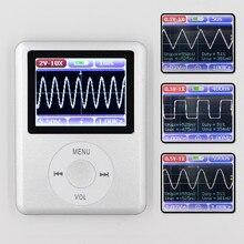 DSO168 Portatile mini tasca portatile ultra piccolo oscilloscopio digitale 20 M di larghezza di banda 100 M frequenza di campionamento
