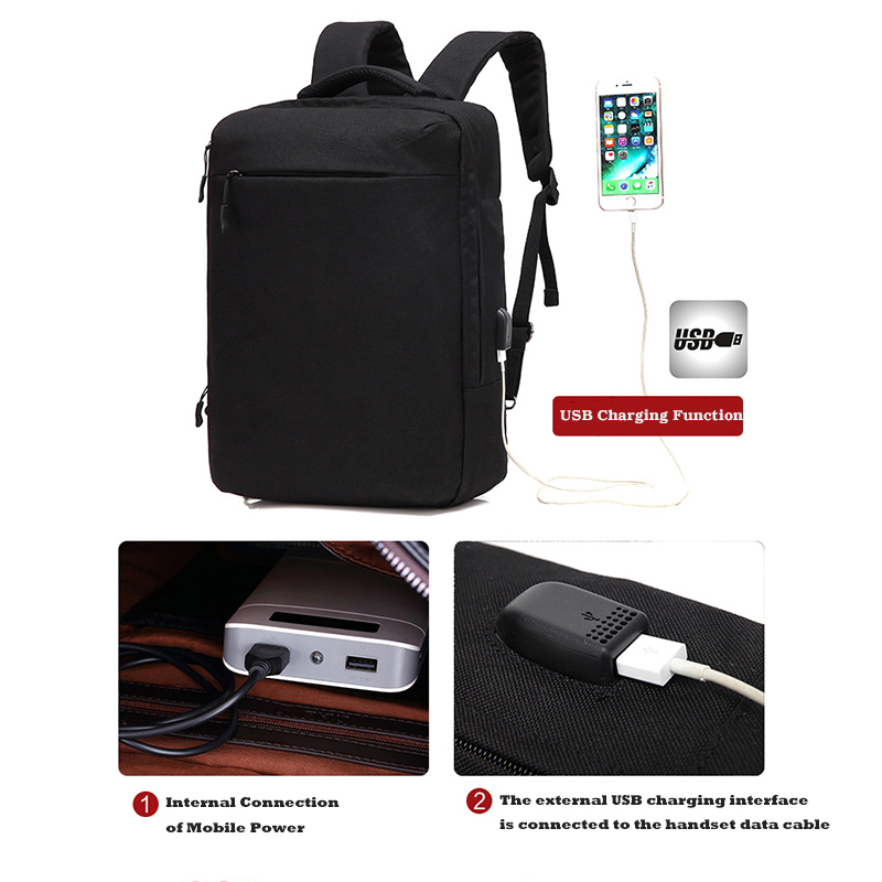 New Waterproof USB Charge Computer Backpacks Laptop Bag For Macbook Air Pro Retian 11 12 13 15 Xiaomi HP Asus Backpacks Sleeve soyan pu laptop sleeve envelope bag for macbook air pro retina 11 12 13 15