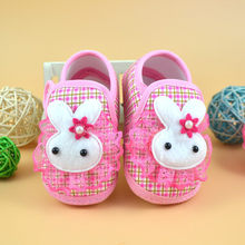 Newborn baby shoes Girl Boy comfortable Soft Sole Crib Canvas Sneaker First Walkers bebek ayakkabi(China)