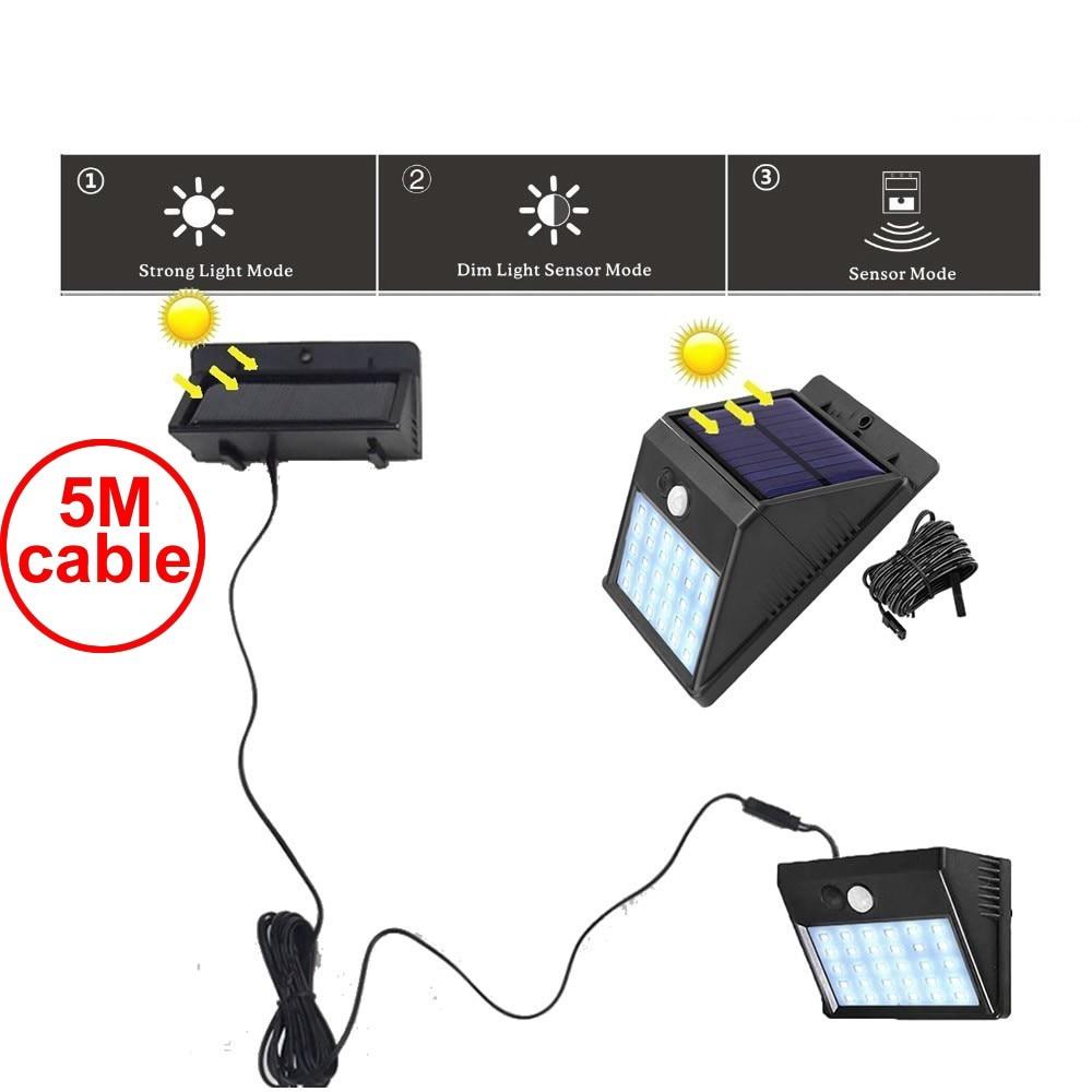 Us 217 38 Offsolar Light Lamp Llampara Colgante Wall Lights Lampshade Lampy Sufitowe Plafonnier Led Par Moderne 30 Leds Grow Sensor Home Desk In