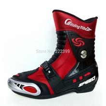 Мотоцикл шоссейные велоспорт обуви сапоги обувь сапоги мужчины езда мотоцикла сапоги мото обувь оборудования