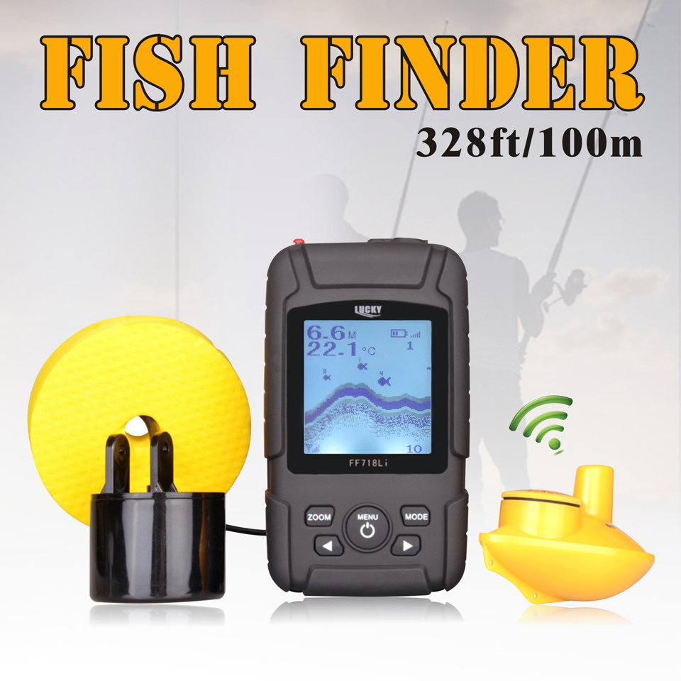 aliexpress : buy lucky 328ft /100m depth fishfinder sonar, Fish Finder