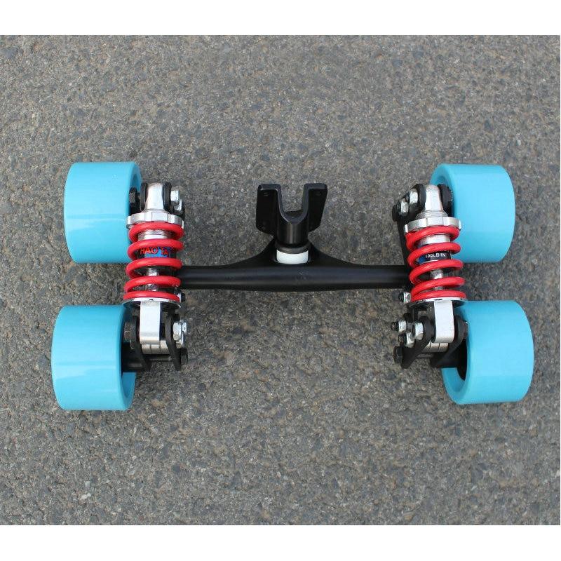 Skateboard Truck Aluminum Bridge New 4 Wheels Skateboard Bridge Long Board Truck Skateboard Truck Wheels