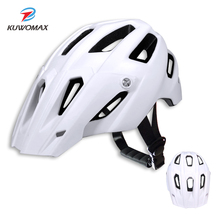 2020 KUWOMAX MTB cycling helmet Bicycle Helmets Men Women Bike Helmet Back Mountain Road Bike Integrally Molded Cycling Helmets. bike protective furnaceman bicycle furnace flame retardant high temperature insulation mask shawl cycling helmets