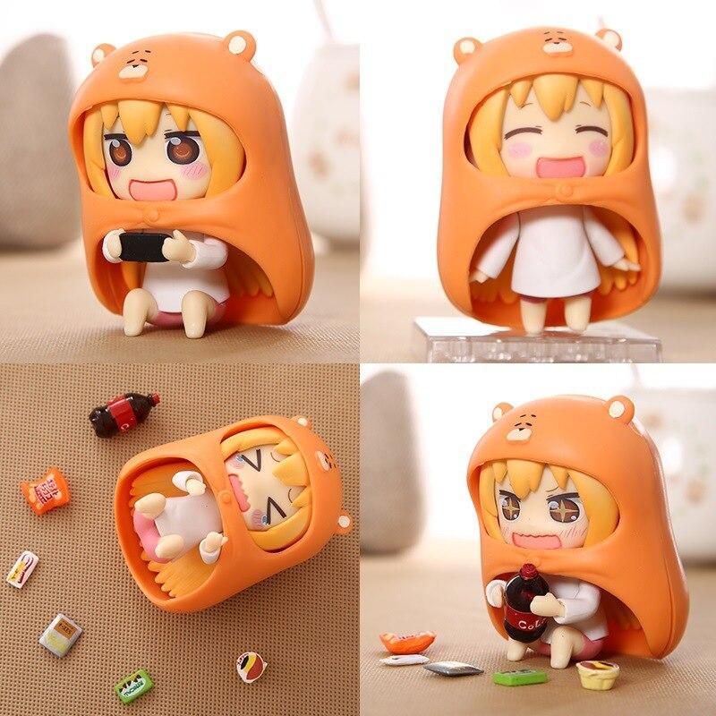 1 Box 10cm Himouto Umaru Chan Action Figure Good Smile Nendoroid 524 # PVC Manga Comic Anime Kids Toy For Girls High Quality