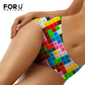 FORUDESIGNS Panties Women Underwear Large Size Briefs Ladies Comfort Breathable Female Big Size Underwear Panties For women